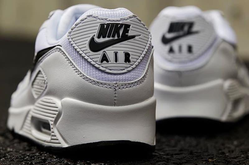 Nike Air Max 90 White Black Hypebeast