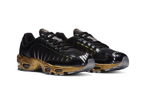 "Nike Air Max Tailwind IV ""Black/Metallic Gold"" Goes From Earth to Mars"
