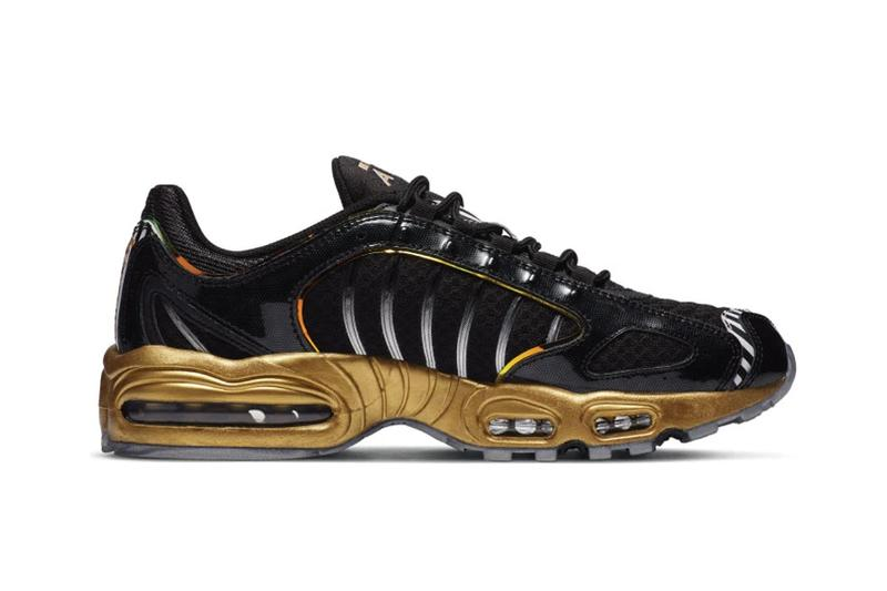 nike air max tailwind iv 4 black white metallic gold silver earth mars CT1263 001 official release date info photos price store list buying guide