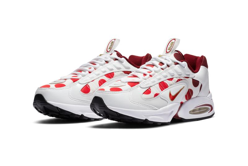 nike air max triax 96 tailwind iv 4 nippon red white gold polka dots tokyo olympics CW4809 CW4810 167 official release date info photos price store list