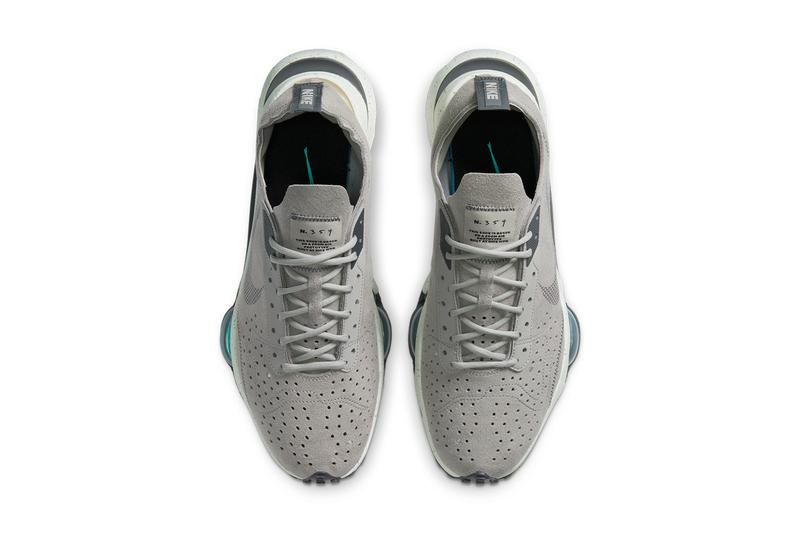 nike n 354 air zoom type college grey dark flax hyper jade white CJ2033 002 official release date info photos price store list buying guide