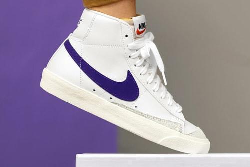 "Nike Blazer Mid '77 Vintage and Low Get ""Voltage Purple"" Swooshes"