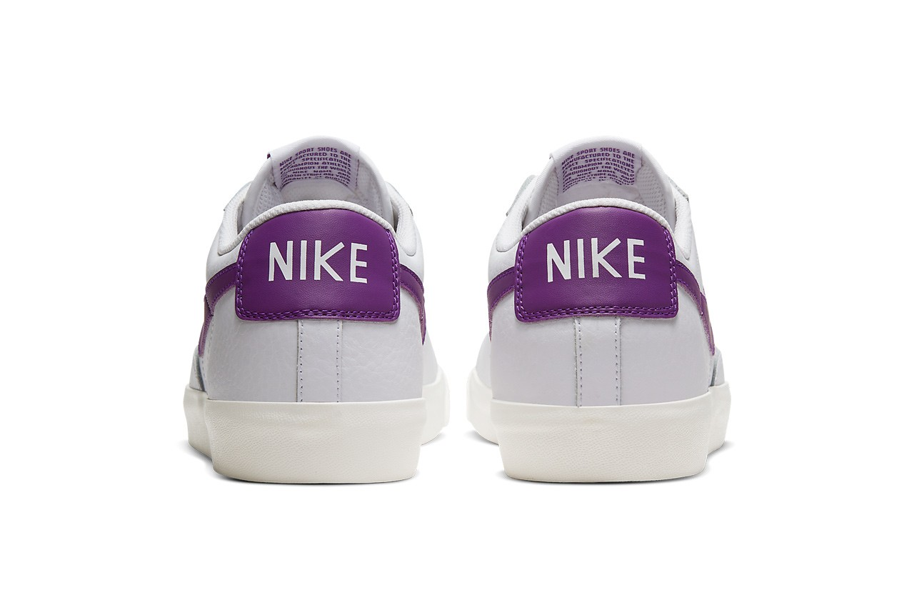 nike sportswear blazer low mid 77 vintage white voltage purple sail CI6377 103 BQ6806 105 official release date info photos price store list