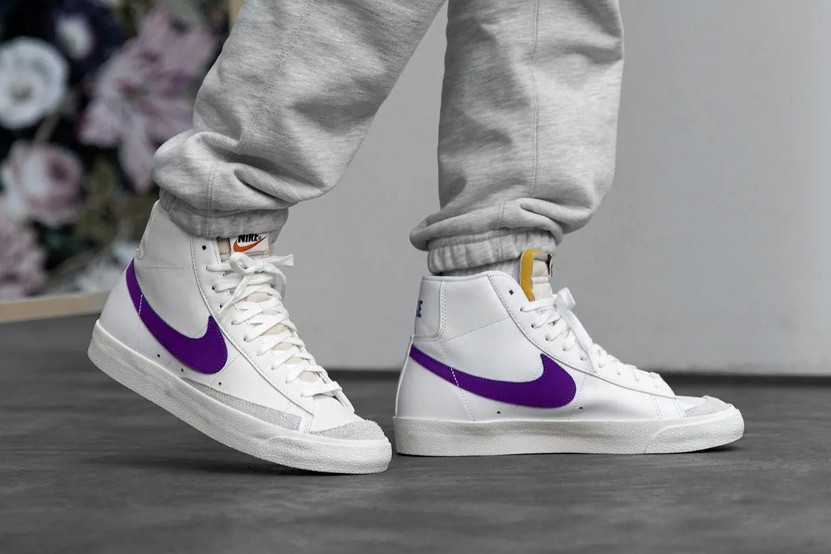 Catarata bala vendedor  Nike Blazer Low & Mid '77 Vintage Voltage Purple | HYPEBEAST