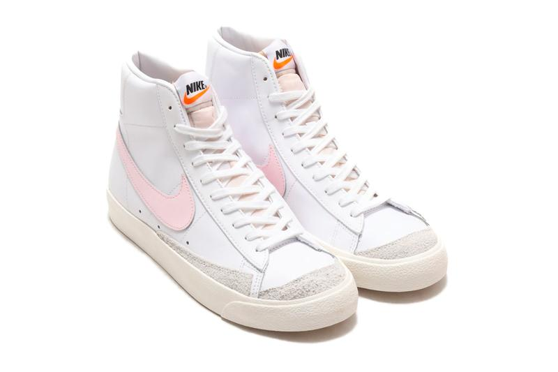Nike Blazer 77 Mid Vintage White Pink Foam bq6806 108 Sneakers shoes footwear trainers runners kicks spring summer 2020 collection menswear streetwear