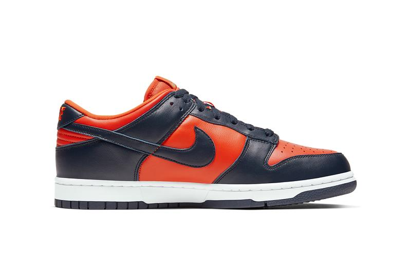 nike sportswear dunk sp low champ colors team tones be true to your school university orange marine navy blue white CU1727 800 official release date info photos price store list buying guide