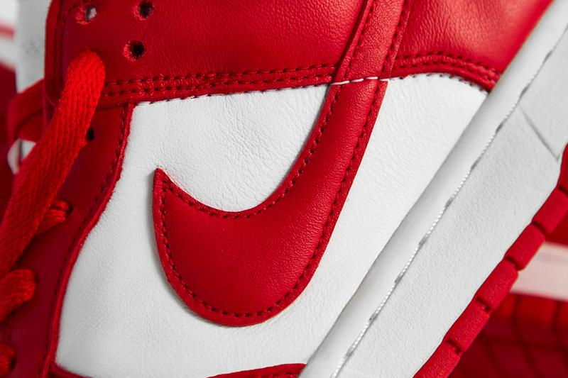 Nike Dunk Low SP University Red Closer Look Release Info cu1727-100 White Buy Price Raffle END.