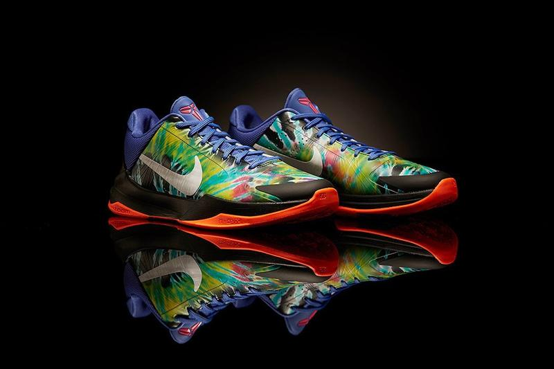 Nike Gifts Special Edition Kobe V 5 Protro KD 13 EYBL Class of 2020 summer high school basketball league elite youth tie dye