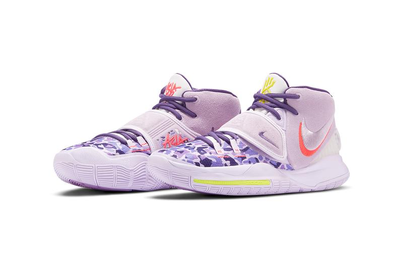 nike basketball kyrie irving 6 asia purple red yellow white grey camo CD5033 500 official release date info photos price store list