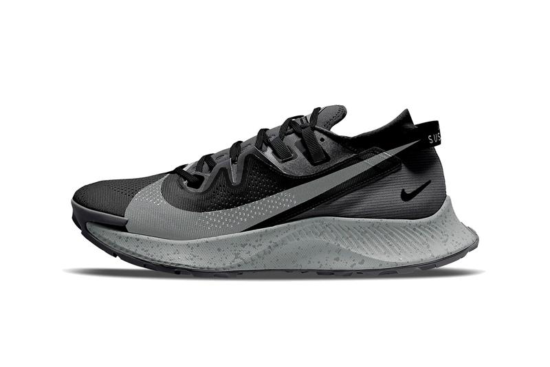 nike running pegasus trail 2 black dark smoke grey particle spruce aura CK4305 002 official release date info photos price store list