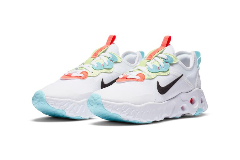 nike react art3mis bright crimson red white yellow blue CN8203 101 official release date info photos price store list
