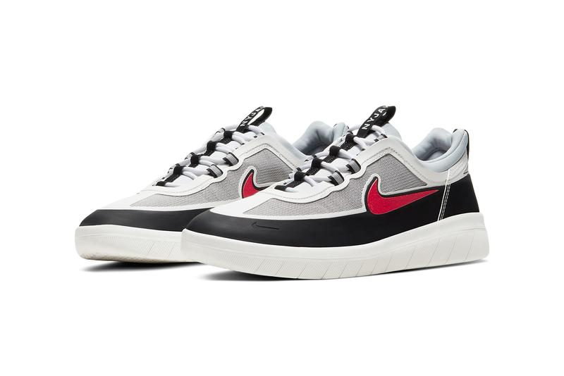 nike sb skateboarding nyjah huston free 2 spiridon black metallic silver sport red official release date info photos price store list buying guide
