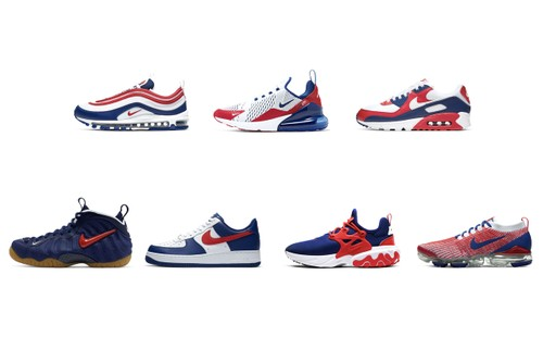 "Nike Drops ""USA"" Pack Ahead of July Fourth"