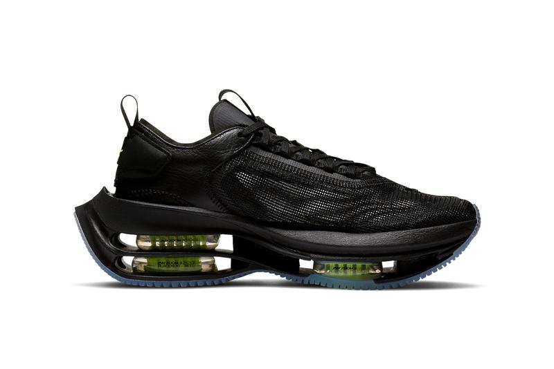 nike sportswear zoom double stacked black volt CI0804 001 official release date info photos price store list buying guide