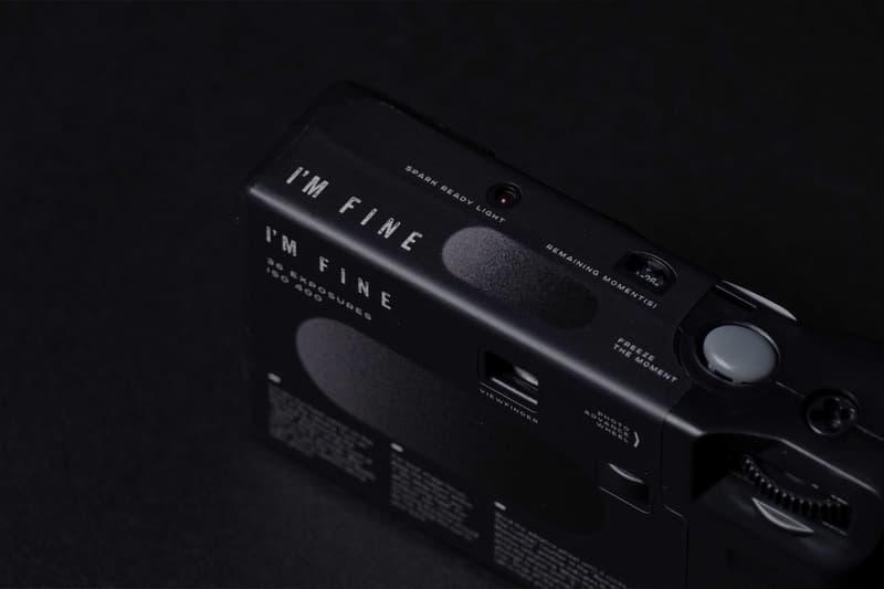 NINM Lab I'M Fine Single Use Camera - DAWN Black & White Edition Release Info Buy Price