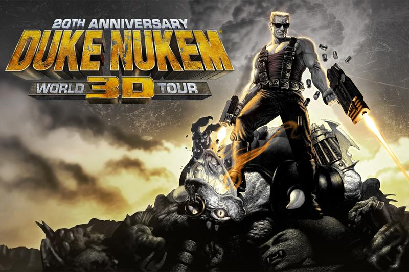 duke nukem 3d anniversary 20th world tour edition nintendo switch lite release