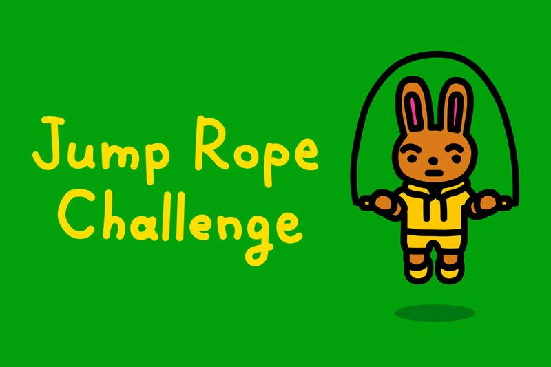 nintendo switch free release jump rope challenge rabbits bunnies exercise work from home developers