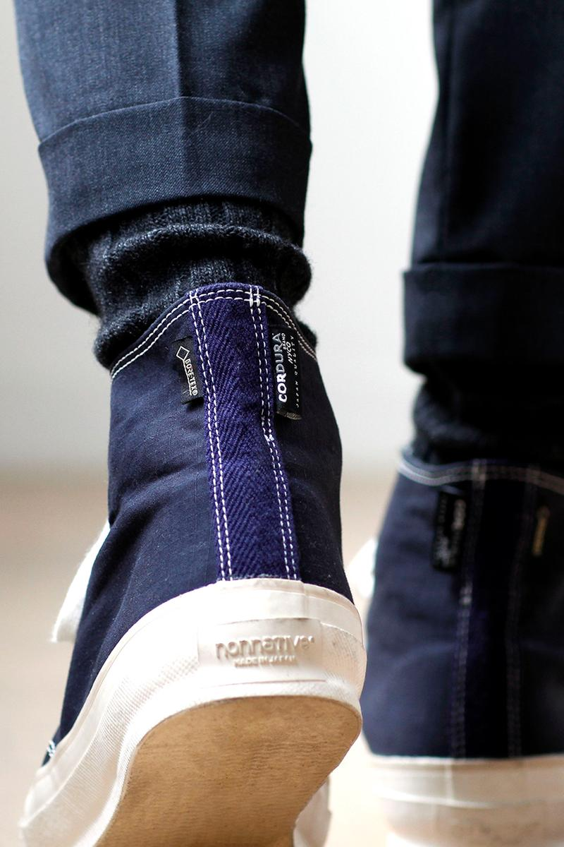 nonnative Dweller Trainer Hi Cordura With Gore Tex menswear streetwear shoes sneakers footwear runners trainers spring summer 2020 collection