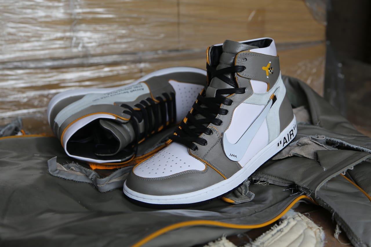 Off-White x Air Jordan 1 Custom, Ceeze