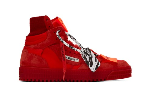 Off-White™'s Off Court 3.0 Gets Coated in Striking Red Palette