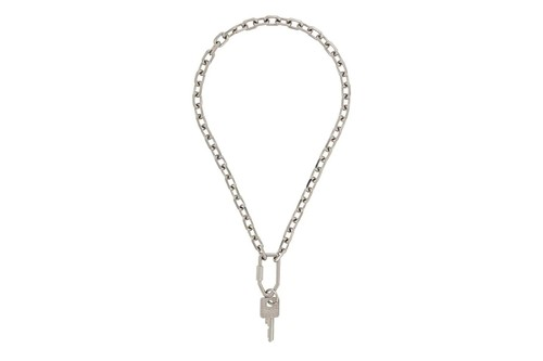 Off-White™ Releases Understated Silver-Tone Key Chain Necklace