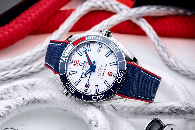 omega seamaster planet ocean 600m americas cup sailing 36th official timekeeper watches accessories diver
