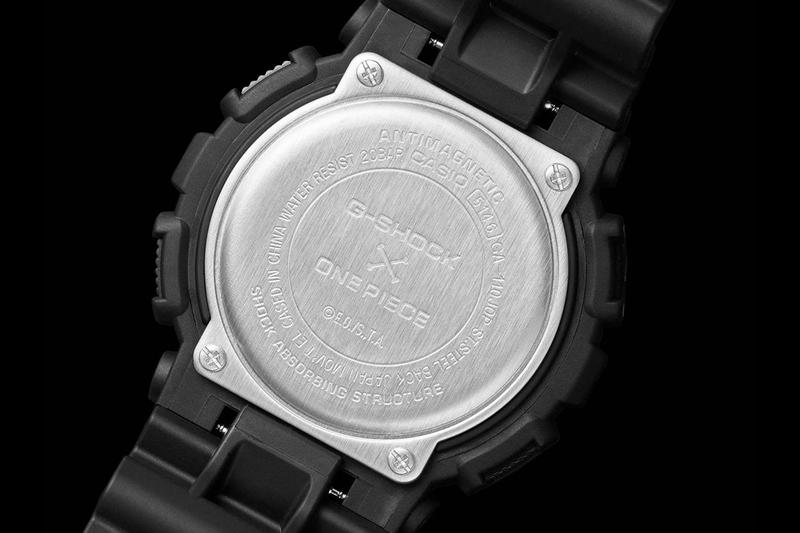 G-SHOCK x One Piece GA-110JOP Watch Collaboration timepiece release date info buy japan luffy august 2020 price