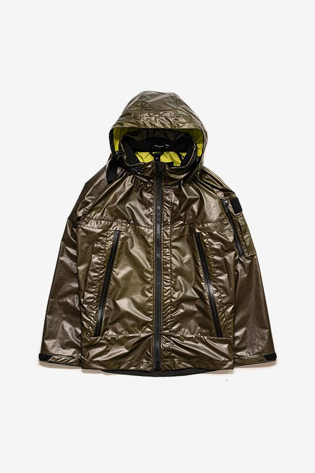 ORBITGear W110-J React uranus Color-Changing Jacket Release info nylon textile heat reactive treatment buy now purchase details Thermocrhomic Shell with colod-changing ability.
