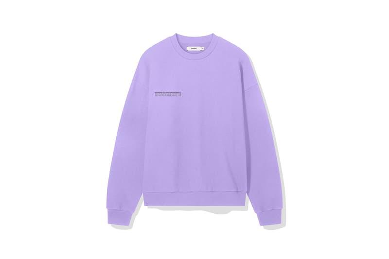 pangaia 7 pop color sweatshirts shorts spring summer 2020 release information long short blue yellow pink orange green purple