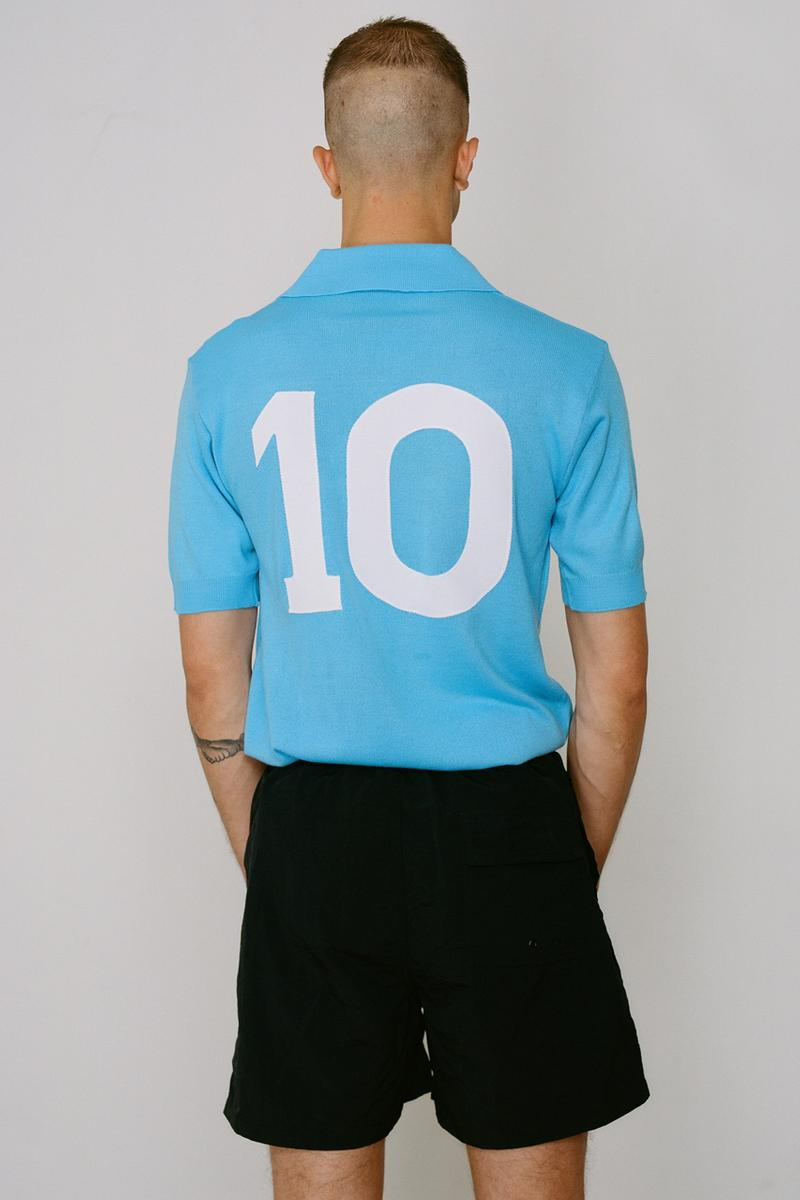 patta nr ennerre no 10 naples football soccer jersey shirt 1988 1989 Diego Armando Maradona official uefa cup official release date info photos price store list