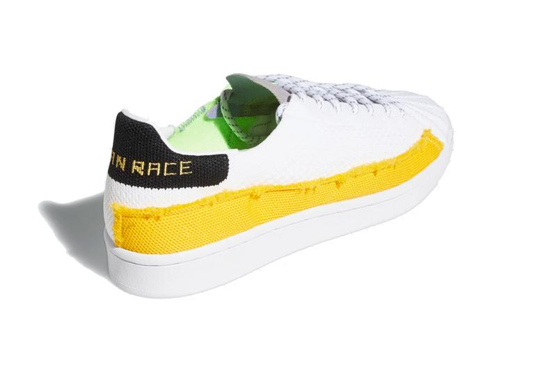 pharrell williams adidas originals superstar 2020 collaboration core black tech legacy purple FY1787 cloud white bold gold light FY2294 official release date info photos price store list buying guide
