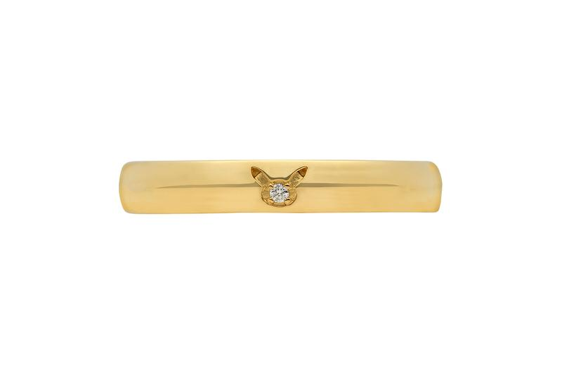 The Pokémon Company Drops Pikachu-Themed Engagement Rings pocket monsters marriage GINZA TANAKA Japan Jewelry gold diamonds