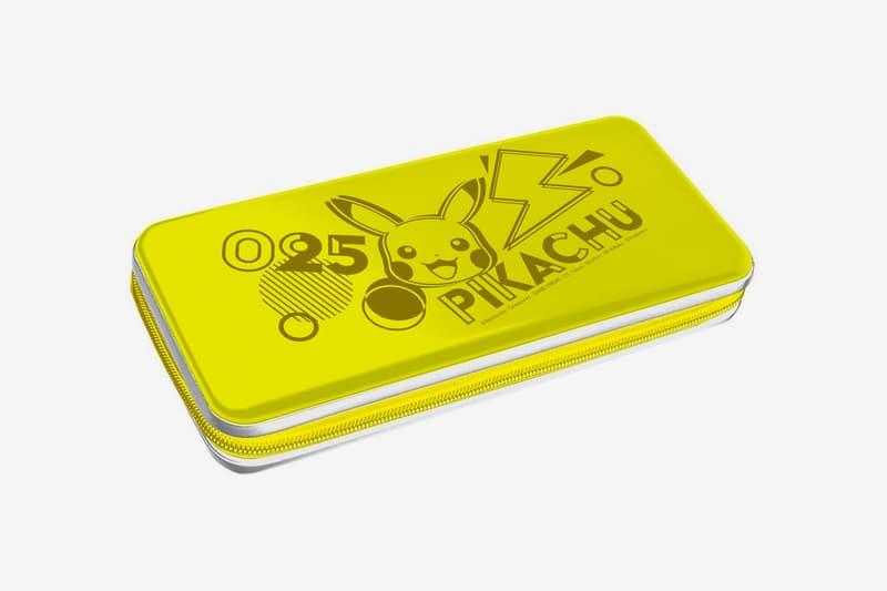 Pokémon Pikachu HORI Nintendo Switch Accessories Release Info Lite