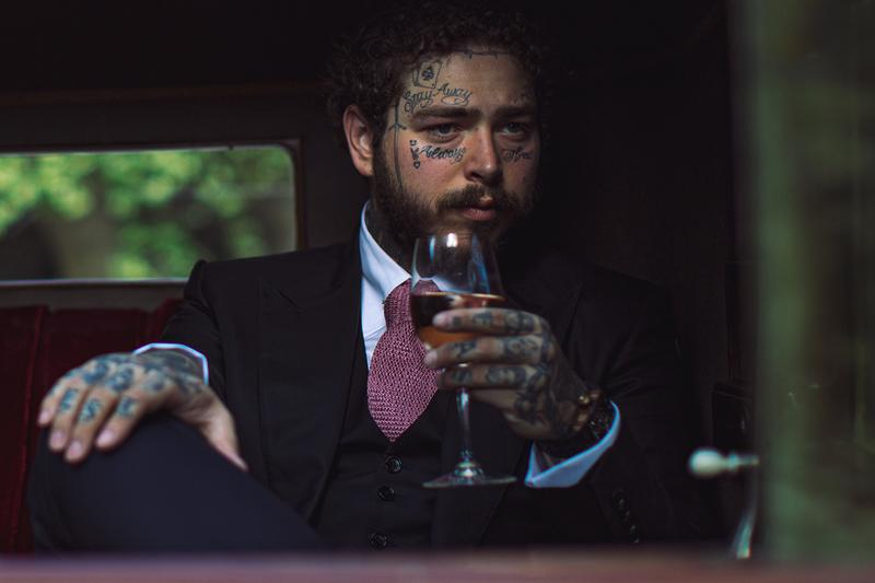 Post Malone Sold 50 000 Bottles French Rose Two Days Maison No 9 vivino rapper singer artist hip hop