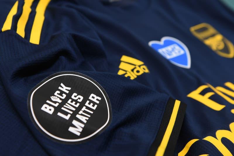 premier league football return arsenal black lives matter nhs covid 19 english