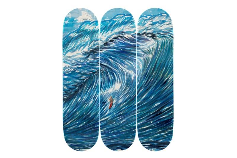 raymond pettibon skateroom skateboard editions david zwirner collaborations artworks