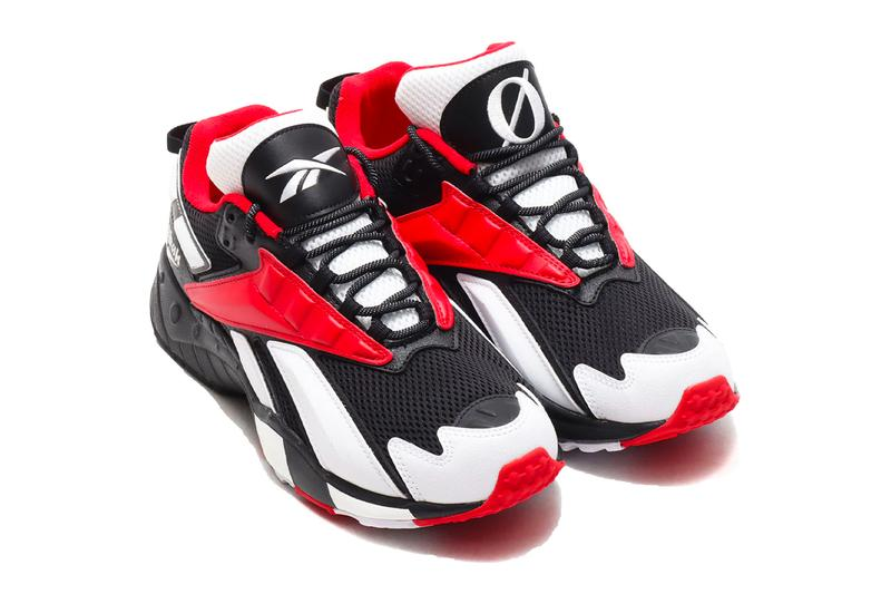 Reebok Interval 96 Sway Black Scarlet white menswear streetwear spring summer 2020 collection shoes footwear sneakers trainers runners basketball fx7137