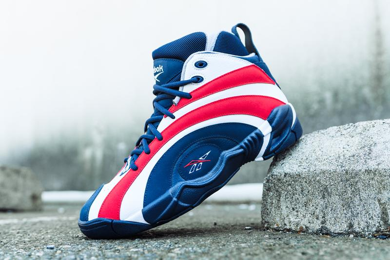 reebok shaqnosis kamikaze ii 2 usa vector navy white red FV2971 FV9295 shawn kemp shaquille o neal shaq usa basketball official release date info photos price store list