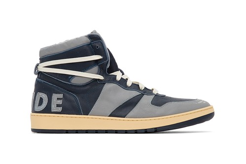 "RHUDE's RHECESS-HI Sneakers Receive a ""Georgetown""-Inspired Colorway"