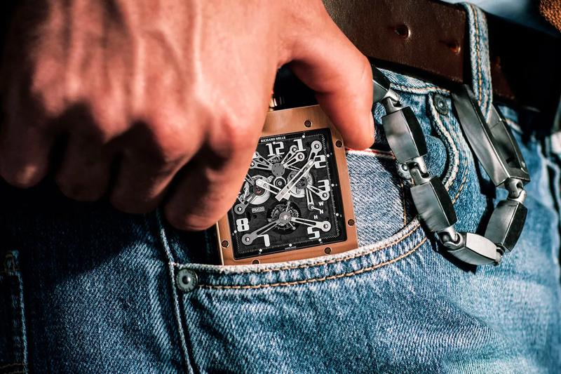 Richard Mille RM 020 Tourbillon Pocket Watch Release Info carbon nanofiber composite 62mm tall 52mm wide Cheval Frères crown