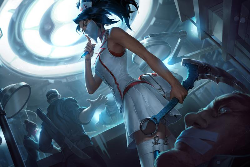 Riot Games League of Legends Medical-Themed Skins COVID-19 Aid Relief coronavirus