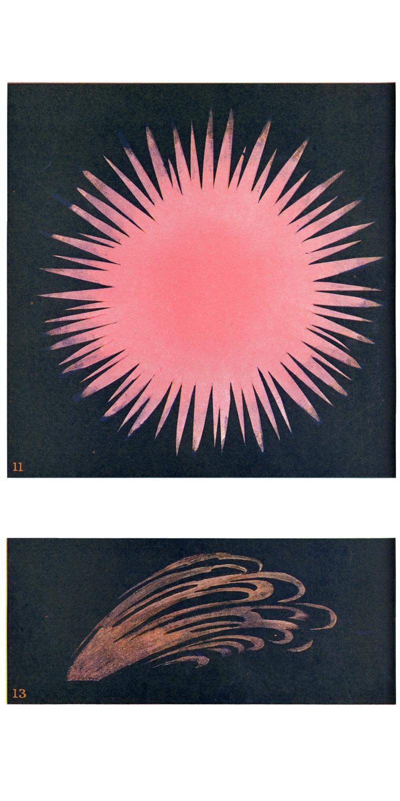 Sacred Bones Thought-Forms: A Record of Clairvoyant Investigation Occult Book Theosophical Illustrations 1905 Annie Besant Charles W. Leadbeater