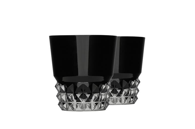 Saint Laurent x Baccarat Louxor Crystal Tumblers paris France luxury homeware cups glasses crystal