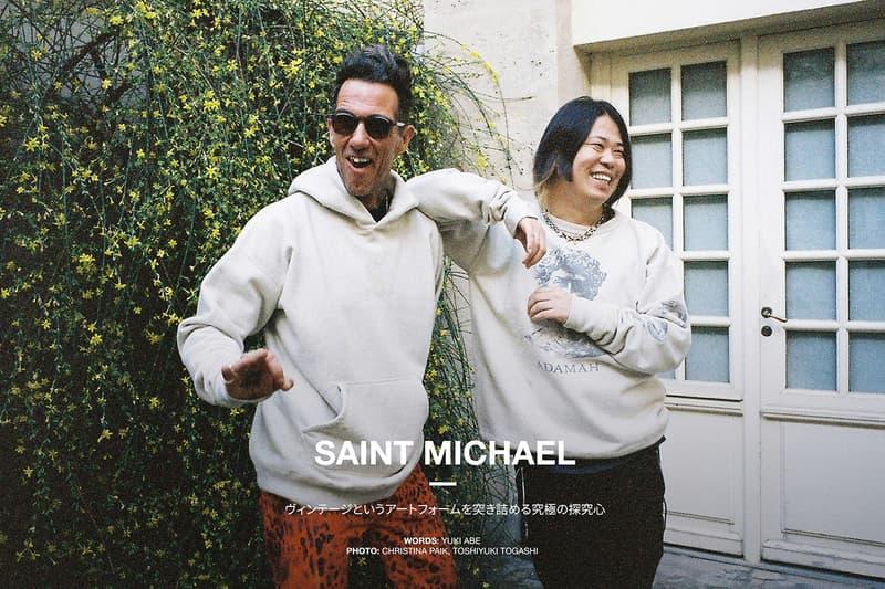SAINT MICHAEL HYPEBEAST Japan Digital Cover designers Yuta Hosokawa Cali Thornhill DeWitt interview readymade archive vintage fashion