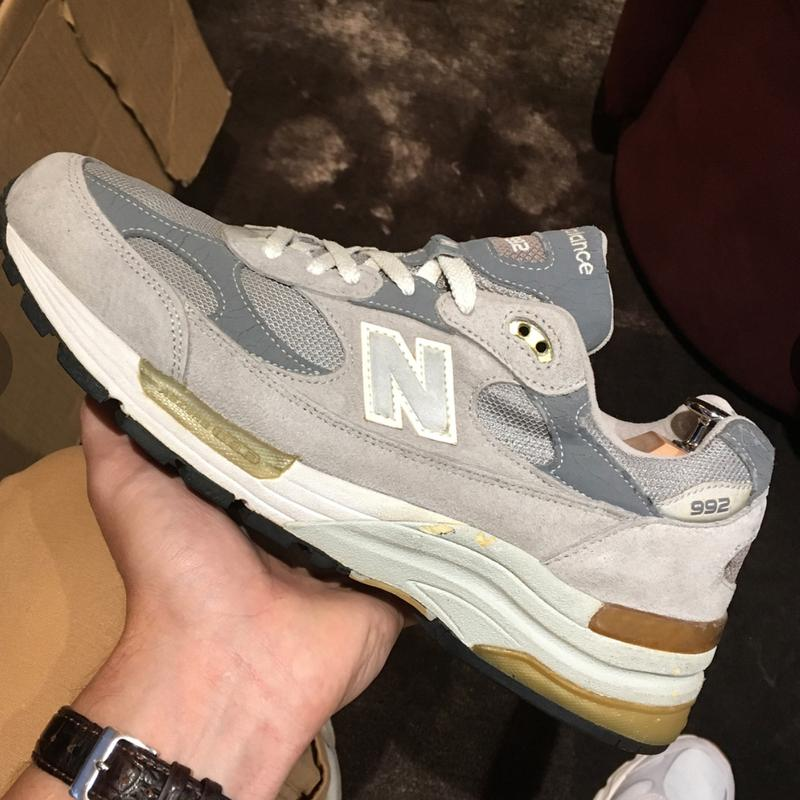 Sevenstore new balance 992 sam pearce interview editorial 992 1300 information history archive story