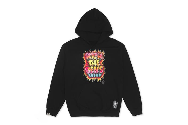 Shirt King Phade x Rock the Bells Graffiti Streetwear Capsule t-shirts bubble airbrush prints ll cool j hip-hop street style drop info