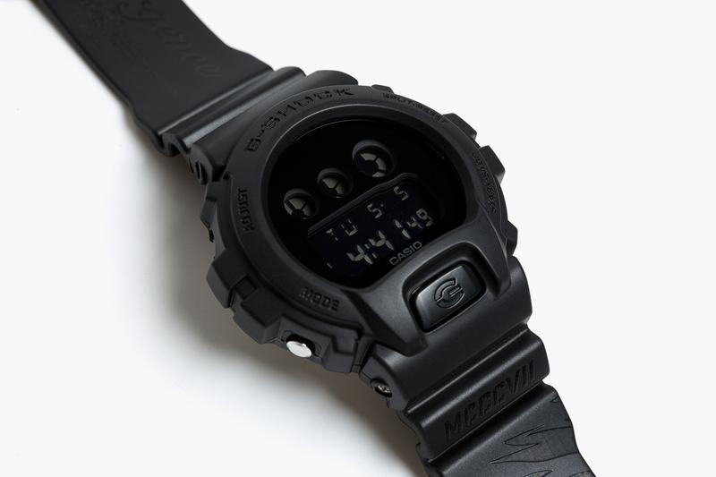 SMG casio G-SHOCK DW-6900BB Resurgence Special Edition watch timepiece collaboration smudgestore taipei june 26 2020