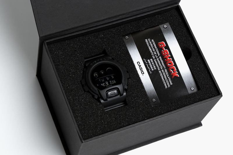 SMG casio G-SHOCK DW-6900BB Resurgence Special Edition watch timepiece collaboration smudgestore taipei june 26 2020