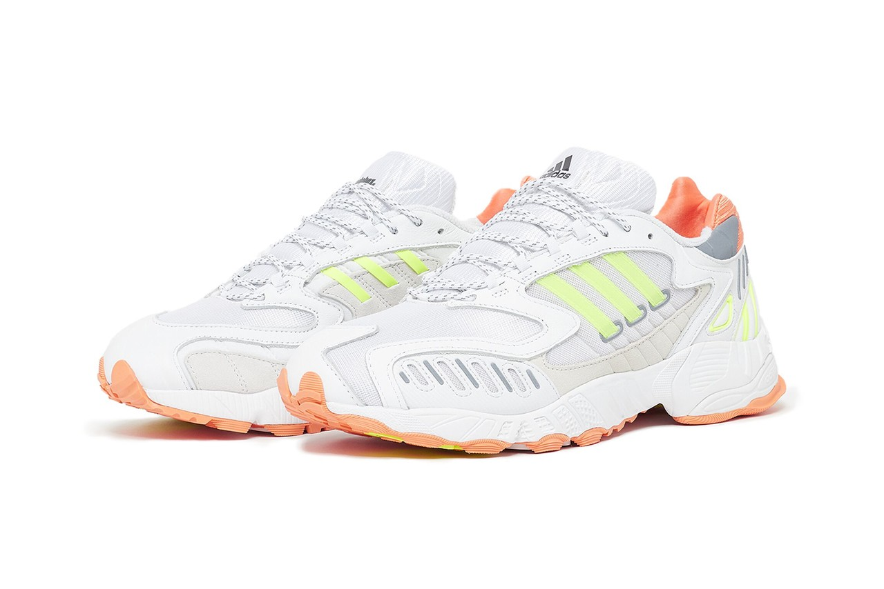 solebox adidas consortium torsion trdc scallop FV9431 orange white neon yellow official release date info photos price store list buying guide