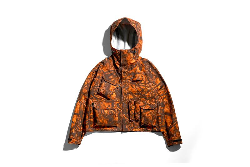 South2 West8 Three Layer River Trek Vest and Jacket S2W8 camo menswear streetwear spring summer 2020 collection outdoors functional technical gray khaki orange